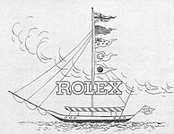 Early Rolex company marketing images - The Rolex Ship